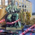 Statue-mit-Grundreinigung
