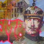 Wilhelm II mit Graffity (2)h