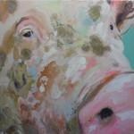 Schwein 2, 60x 60 cm (2)h