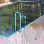 Schwimmbecken im wald